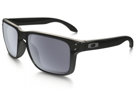 Oakley Holbrook Wayfarer Polarized Grey Mens Sunglasses - OO910202