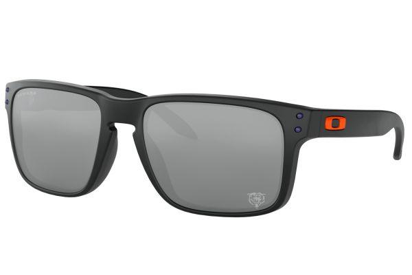Large image of Oakley Chicago Bears Holbrook Prizm Black Iridium Sunglasses, 55mm - OO9102L555