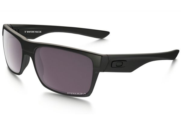 Large image of Oakley Black TwoFace PRIZM Daily Polarized Convert Collection Mens Sunglasses - OO9189-26