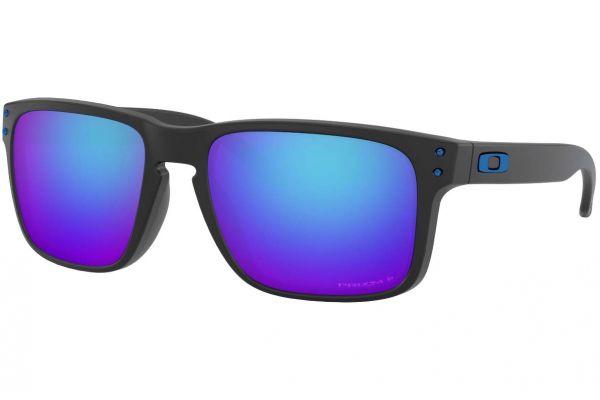 Large image of Oakley Holbrook Prizm Sapphire Iridium Polarized Sunglasses, 56mm - OO92444856