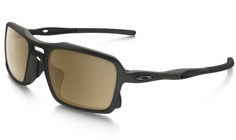 8dd49d6d17 Oakley Men s Triggerman Polarized Rectangular Sunglasses