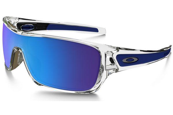 Large image of Oakley Turbine Rotor Polished Clear Mens Sunglasses - OO930710