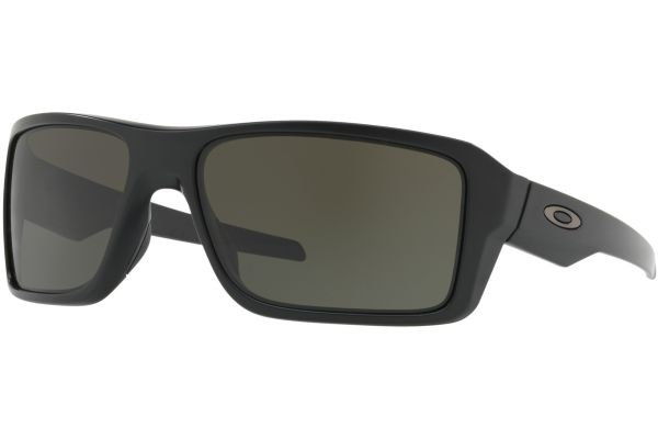 Large image of Oakley Double Edge Matte Black Mens Sunglasses - OO9380-0166