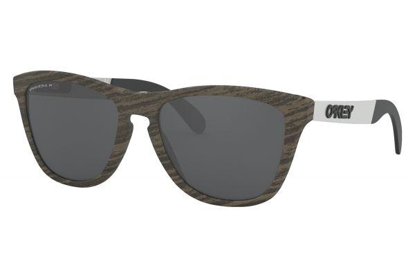 Large image of Oakley Frogskins Mix Prizm Black Polarized Sunglasses - OO94280755