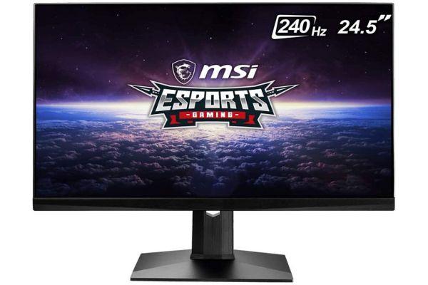 """Large image of MSI Optix 24.5"""" Full HD 240Hz Gaming Monitor - OPTIXMAG251RX"""