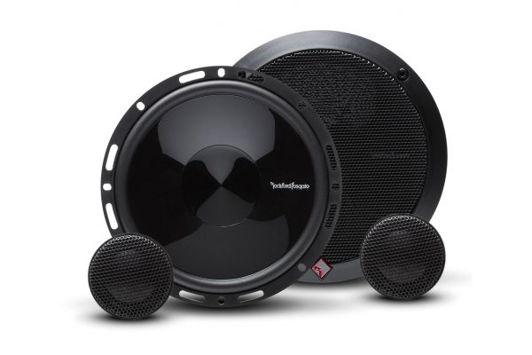 """Rockford Fosgate Punch 6.5"""" 2-Way Euro Fit Compatible System External Xover Set (Pair) - P165-SE"""