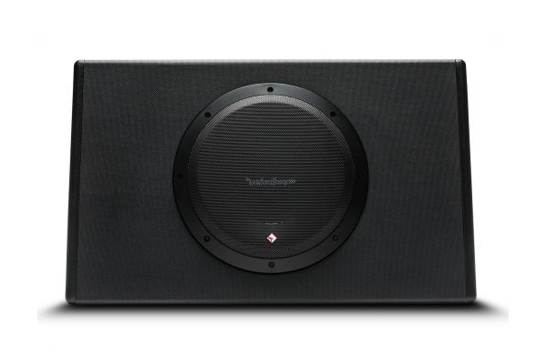 "Large image of Rockford Fosgate Punch 10"" 300-Watt Powered Truck Enclosure Subwoofer - P300-10T"