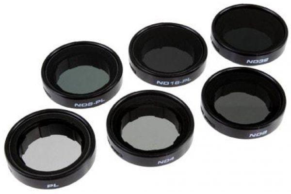 PolarPro GoPro Frame 2.0 Professional 6-Filter Pack - P3006