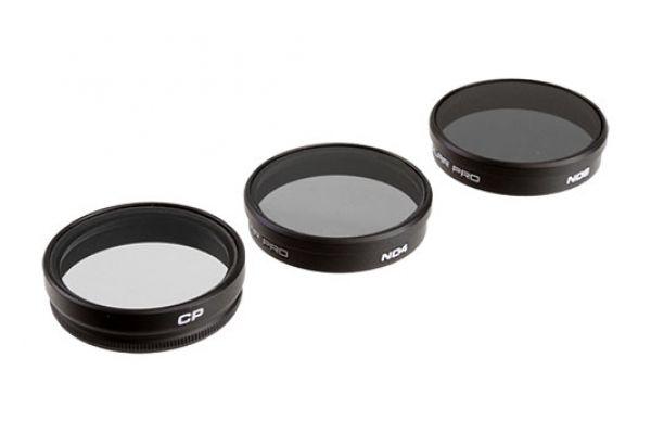 Large image of PolarPro 3 Pack DJI Phantom 3 Filters - P5001