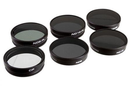PolarPro 6 Pack DJI Phantom 4 & Phantom 3 Professional Filters - P5002