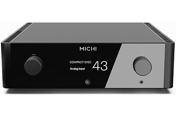 Large image of Rotel Michi P5 Black Stereo Preamplifier - FR51255