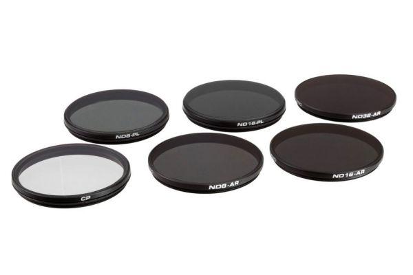 Large image of PolarPro 6 Pack DJI Zenmuse X7 / X5S / X5 Filters - P6002