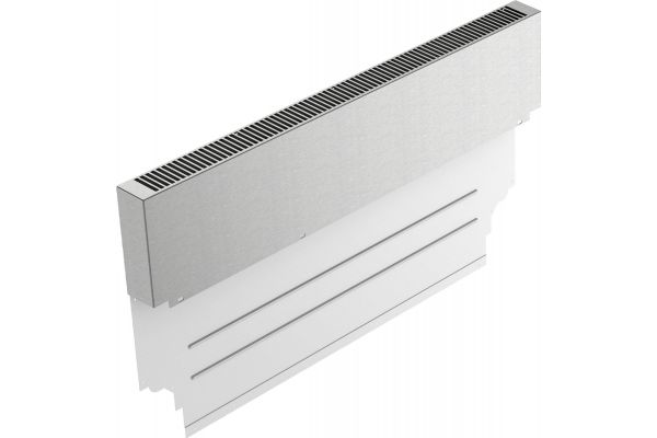 """Large image of Thermador 36"""" Pro Harmony Range Stainless Steel Backguard - PA36WLBH"""