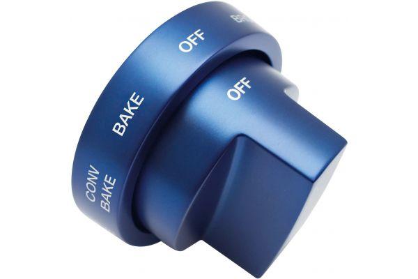"Large image of Thermador Blue Metal Knob Kit for 36"" Dual Fuel GR Harmony Range - PARKB36HY"