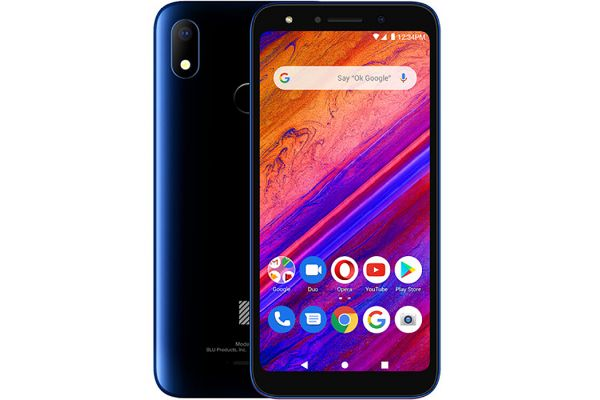 BLU G6 G0210UU 64GB Black/Blue Dual-Sim Unlocked GSM* Phone - PBN201506