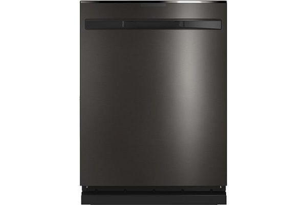 "GE Profile 24"" Black Stainless Built-In Dishwasher - PDP715SBNTS"