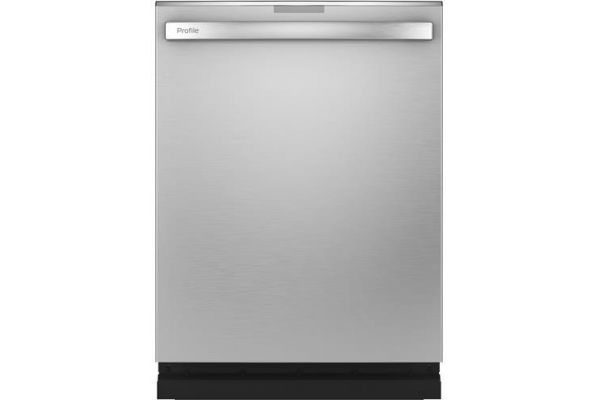 """Large image of GE Profile 24"""" Stainless Steel Built-In Dishwasher - PDT715SYNFS"""