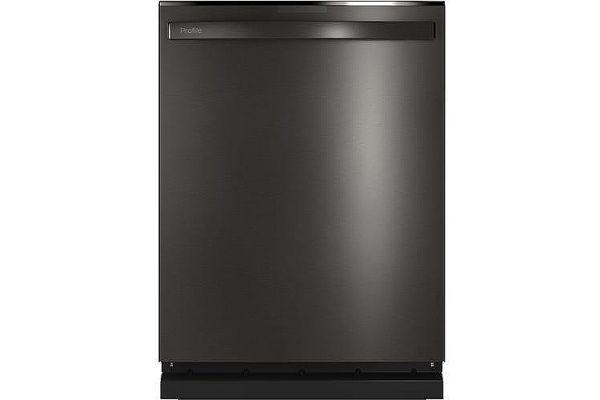 "Large image of GE Profile 24"" Black Stainless Steel Built-In Dishwasher - PDT785SBNTS"