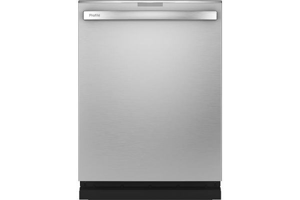 """Large image of GE Profile 24"""" Stainless Steel Built-In Dishwasher - PDT785SYNFS"""
