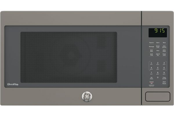 Large image of GE Profile Slate Countertop Convection Microwave - PEB9159EJES