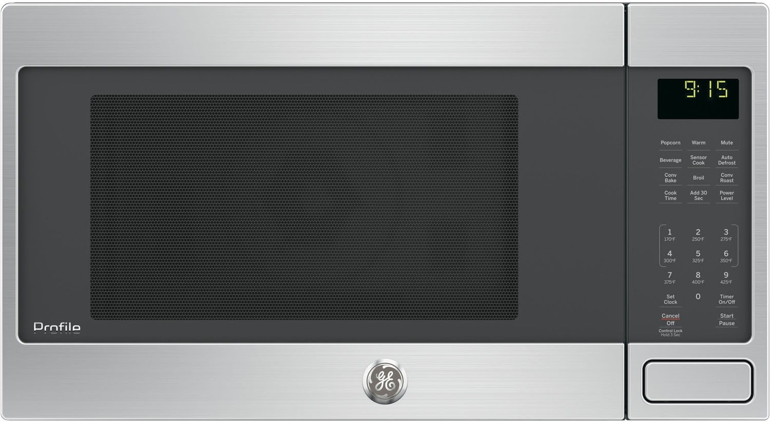 Ge Profile Stainless Steel Countertop Convection Microwave Peb9159sjss