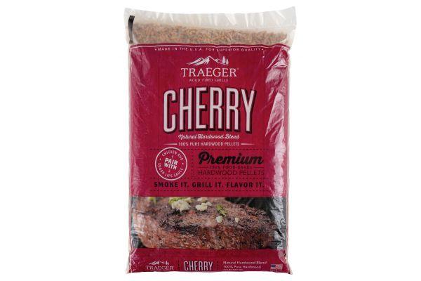 Large image of Traeger 20Lb Cherry BBQ Hardwood Pellets - PEL309