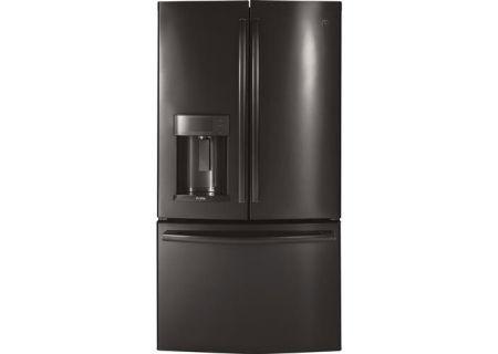 GE - PFD28KBLTS - French Door Refrigerators