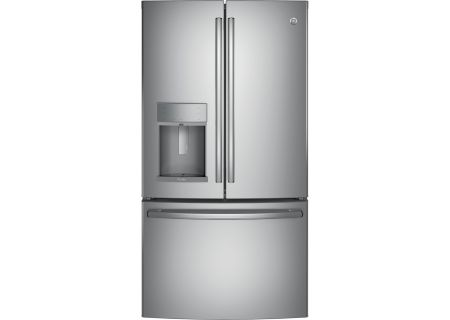 GE Profile 27.8 Cu. Ft. Stainless Steel French Door Refrigerator - PFD28KSLSS