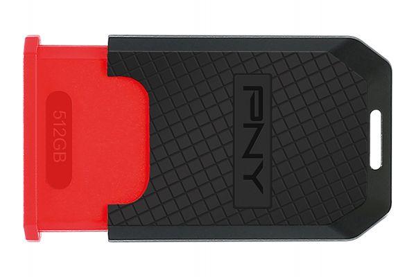PNY Elite 512GB USB 3.1 Gen 1 Type-C Flash Drive - P-FD512ELTC-GE
