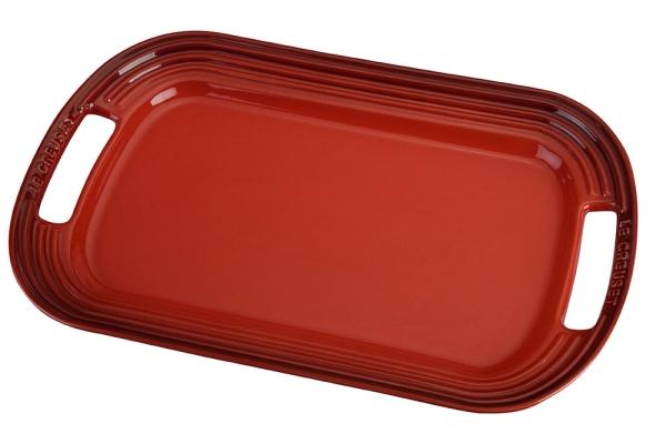 Large image of Le Creuset Cerise Large Serving Platter - PG0309-4167
