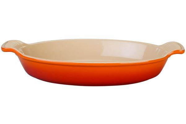 Le Creuset Heritage 1.7 Qt. Flame Au Gratin Dish - PG0400-282