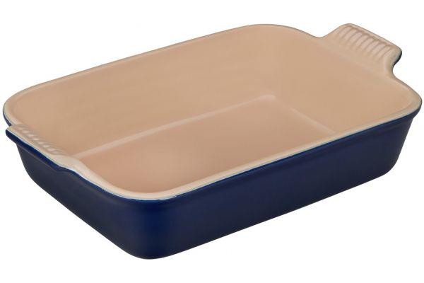 Le Creuset Heritage 2.5 Quart Indigo Rectangular Dish - PG0700-2678
