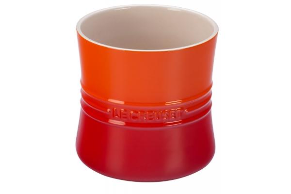 Large image of Le Creuset 2.75 Qt. Flame Large Utensil Crock - PG1003T-2