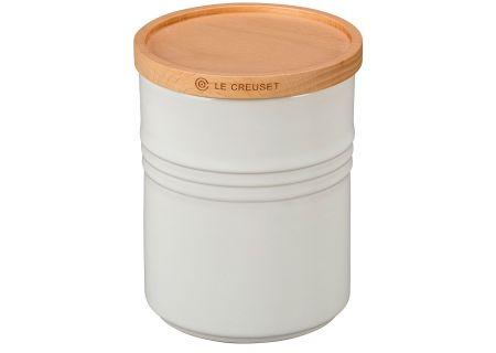 Le Creuset 2.5 Qt. White Storage Canister  - PG15191416