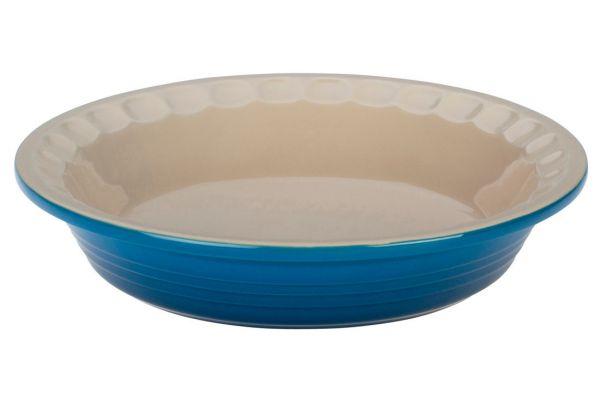 "Large image of Le Creuset 9"" Marseille Petite Pie Dish - PG1855-2359"