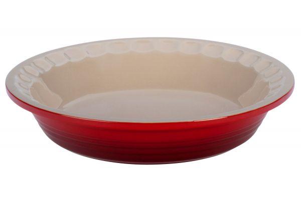 Large image of Le Creuset Heritage 1.5 Qt. Cerise Pie Dish - PG1855-2367