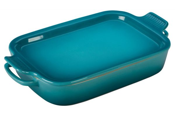 Le Creuset Caribbean Rectangular Dish With Platter Lid - PG20151317
