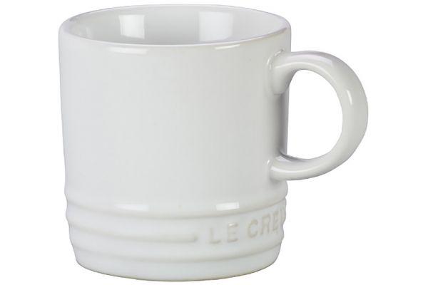 Le Creuset White Espresso Mug - PG8005T-0016