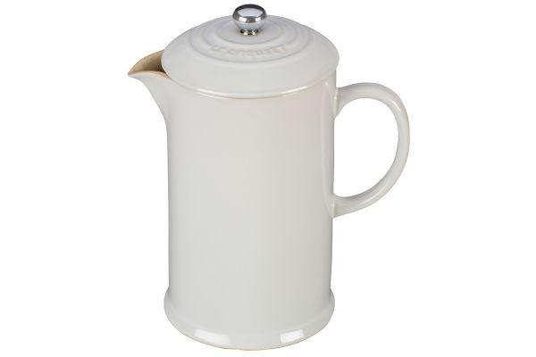 Le Creuset White Ceramic French Press - PG8200-1016