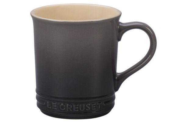 Large image of Le Creuset 14oz. Oyster Stoneware Mug - PG90033AT-007F