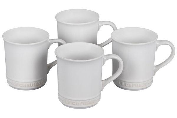 Large image of Le Creuset 14oz. Set Of 4 Soleil Stoneware Mugs - PG90433A-001M