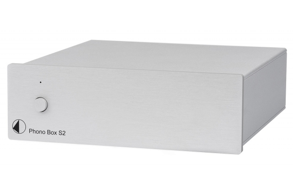 Large image of Pro-Ject Sumiko Phono Box S2 Silver Preamplifier - PHONOBOXS2SIL