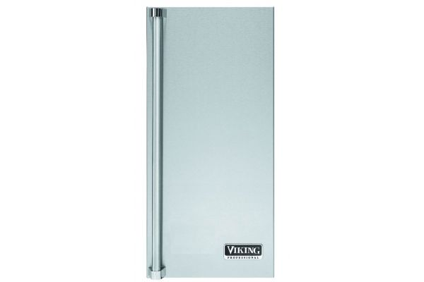 Large image of Viking Stainless Steel Right Hinge Professional Ice Machine Door Panel - PIDP515RSS