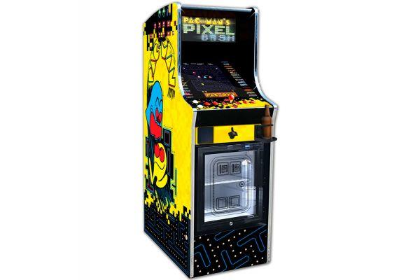 Large image of Namco Pac-Man's Pixel Bash Cooler With 32 Games - PIXELBASH