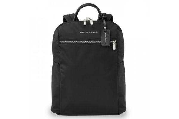 Large image of Briggs & Riley Black Rhapsody Slim Backpack - PK121-4