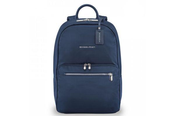 Large image of Briggs & Riley Navy Rhapsody Essential Backpack - PK130-5