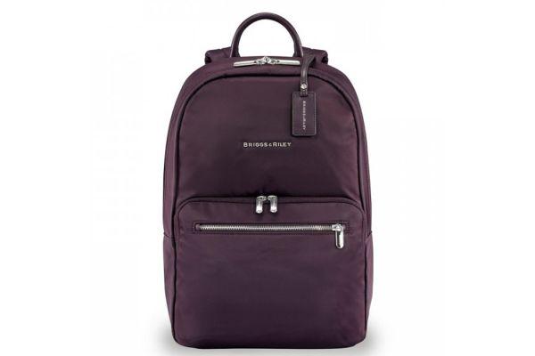 Large image of Briggs & Riley Plum Rhapsody Essential Backpack - PK130-64