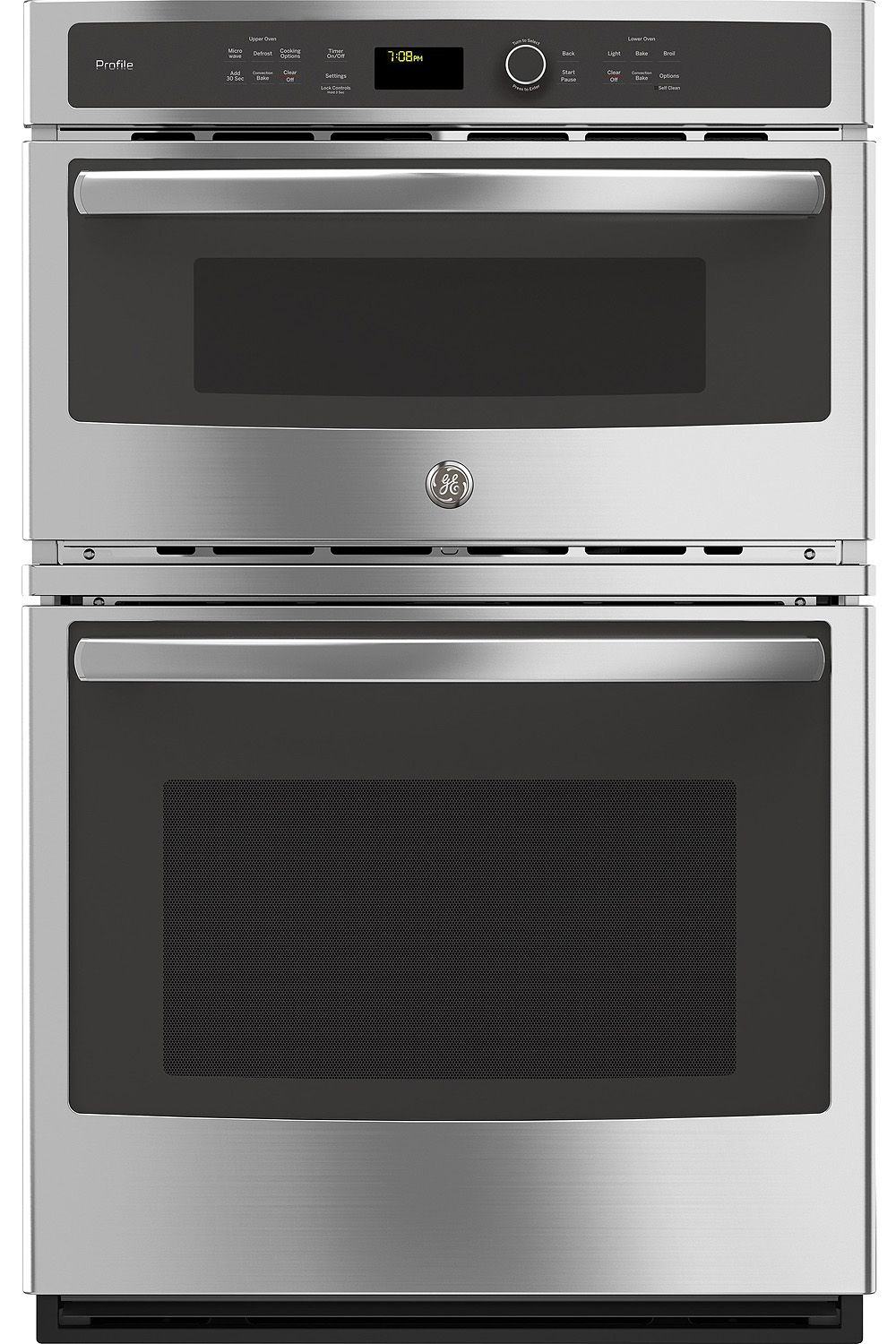 Ge Profile 27 Quot Stainless Built In Combo Oven Pk7800skss