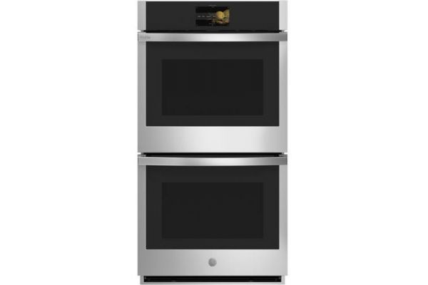"GE Profile Series 27"" Stainless Steel Built-In Convection Double Wall Oven - PKD7000SNSS"