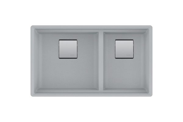 Franke Peak Granite Shadow Grey Undermount Kitchen Sink - PKG160SHG